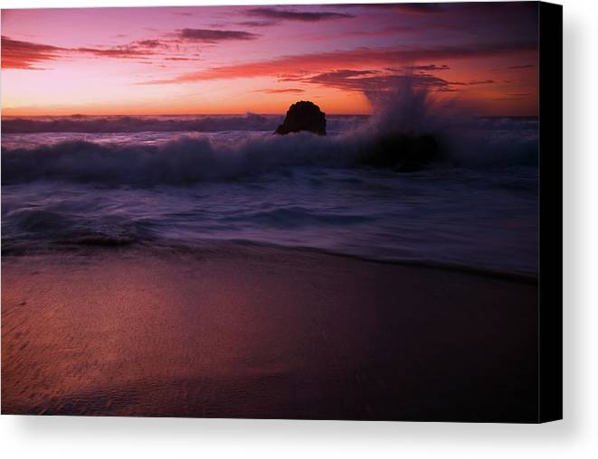 Southwest Canvas Print featuring the photograph Dramatic Serenity by Wayne Stadler