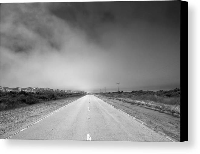 Ocracoke Canvas Print featuring the photograph Endless by Andreas Freund