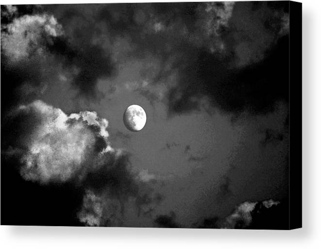 Sky Canvas Print featuring the photograph Eye In The Sky by Steve Karol