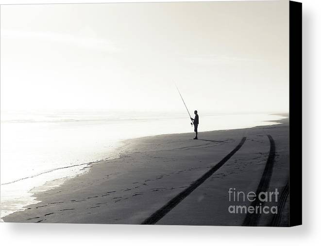 Fisherman Canvas Print featuring the photograph Fisherman by Yurix Sardinelly