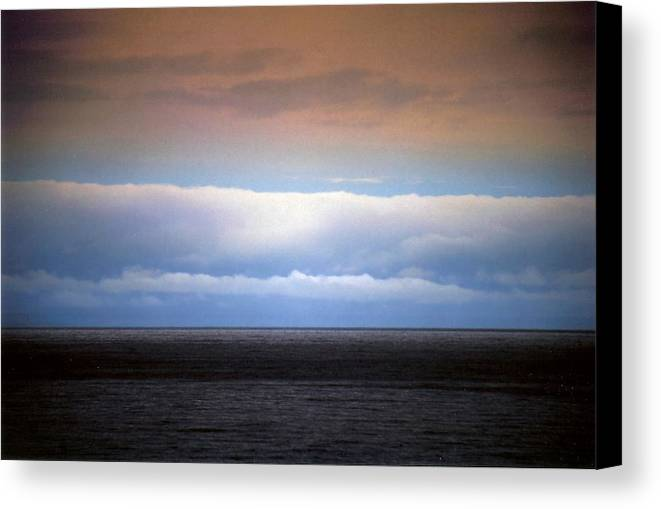 Landscape Canvas Print featuring the photograph Horizontal Number 7 by Sandra Gottlieb