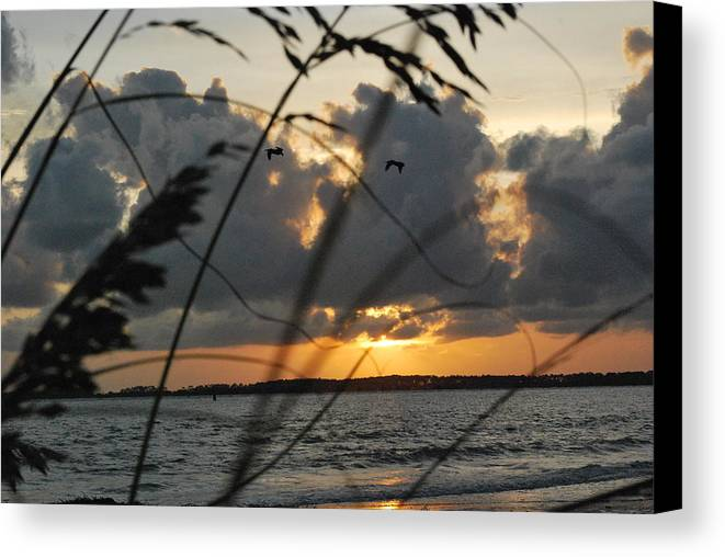 Seascape Canvas Print featuring the photograph Island Paradise by Trudi Southerland