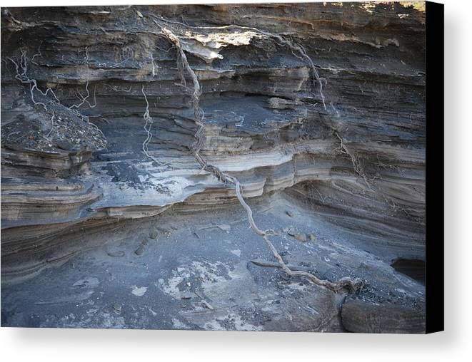 Lava Canvas Print featuring the photograph Layers Of Creations by Lakida Mcnair