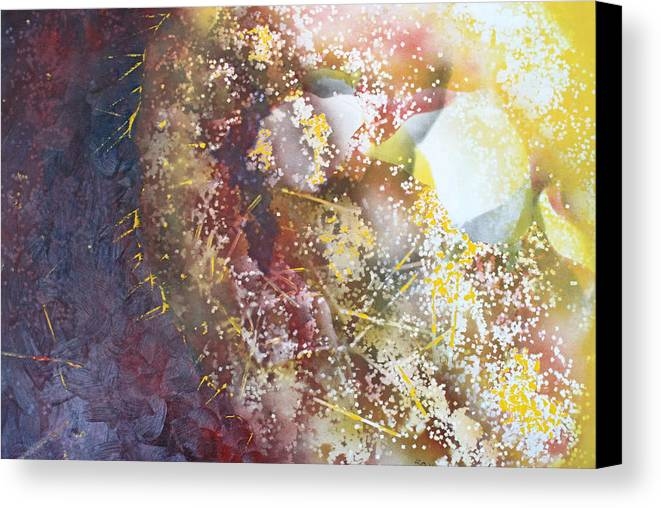 Spriteual Canvas Print featuring the painting Light In The Fermement by Roy Woods