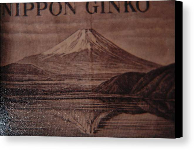 Mount Fuji Canvas Print featuring the photograph Mount Fuji by Rob Hans