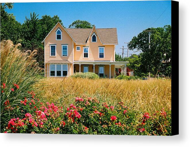Landscape Canvas Print featuring the photograph New Jersey Landscape by Steve Karol