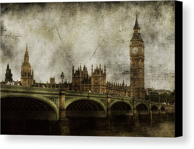 London Canvas Print featuring the photograph Noble Attributes by Andrew Paranavitana