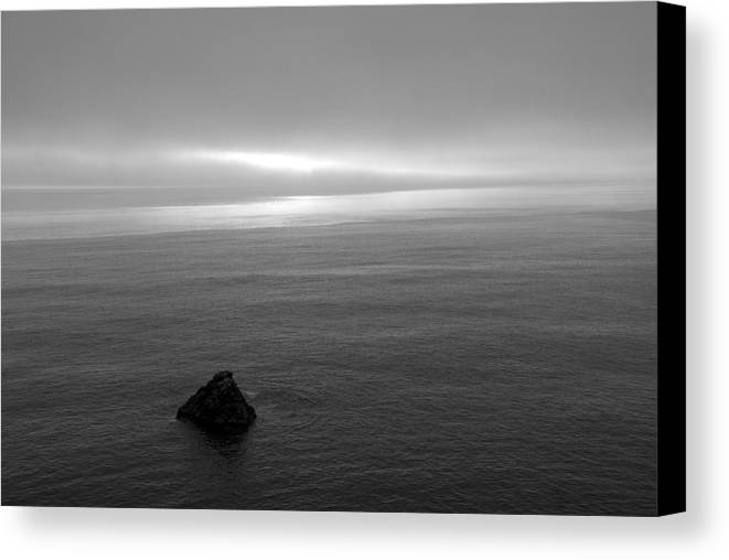Ocean Canvas Print featuring the photograph Ocean by Jessica Wakefield