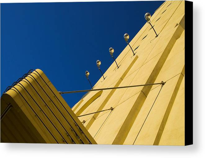 Electric Canvas Print featuring the photograph Old School Vegas by Skip Hunt