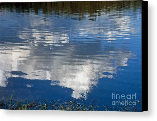 Landscape Canvas Print featuring the photograph Peace by Kathy McClure