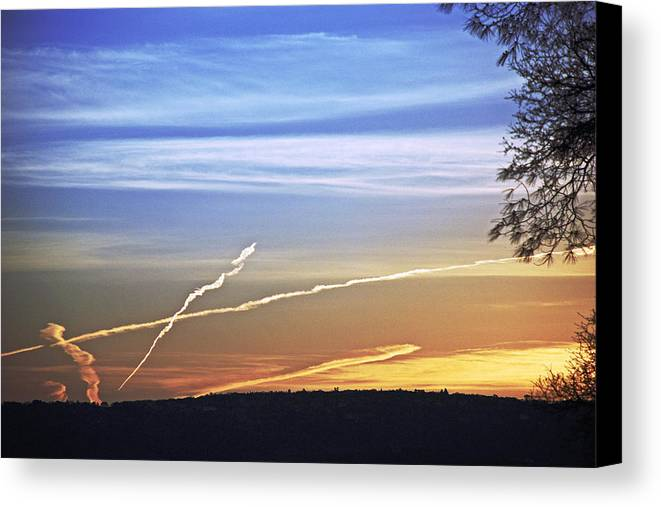 Landscape Canvas Print featuring the photograph Peace by M Ryan