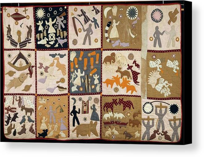Pictorial Quilt American Canvas Print / Canvas Art by Harriet Powers : pictorial quilt artists - Adamdwight.com