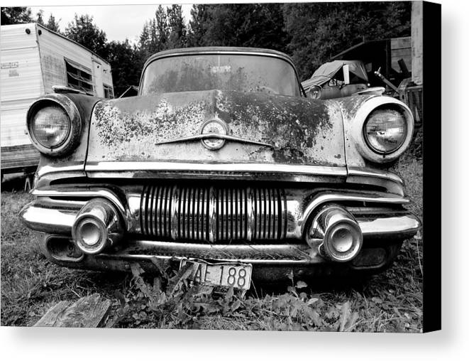 Car Canvas Print featuring the photograph Pontiac Smile 2 by Jennifer Owen