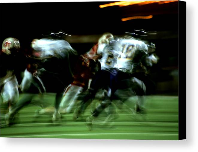 Photography Canvas Print featuring the photograph Pursuit by Tom Fant