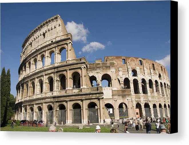 Rome Canvas Print featuring the photograph Rome by Charles Ridgway