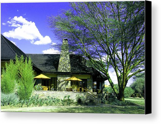 Cottage Canvas Print featuring the photograph Rustic Cottage by Apurva Madia