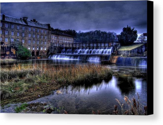 Serene Canvas Print featuring the photograph Serenity by Christopher Lugenbeal