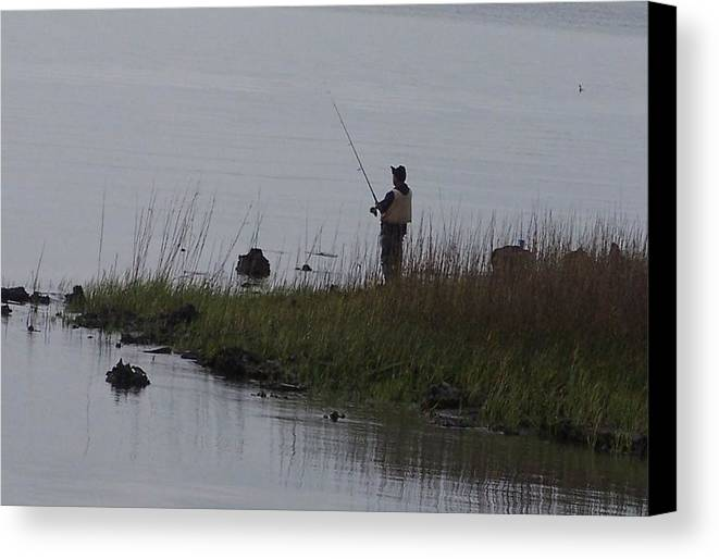 Water Canvas Print featuring the photograph Serenity by Lora DePietro