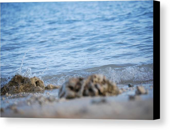 Shore Canvas Print featuring the photograph Shore View by Lakida Mcnair