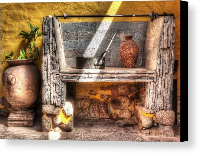 Still Life Canvas Print featuring the photograph Southern Exposure by Stephen Rudolph