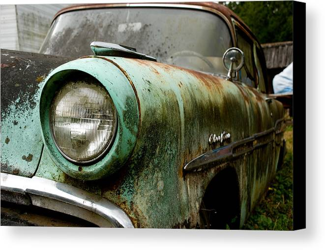 Cars Canvas Print featuring the photograph Sunday Drive by Jennifer Owen