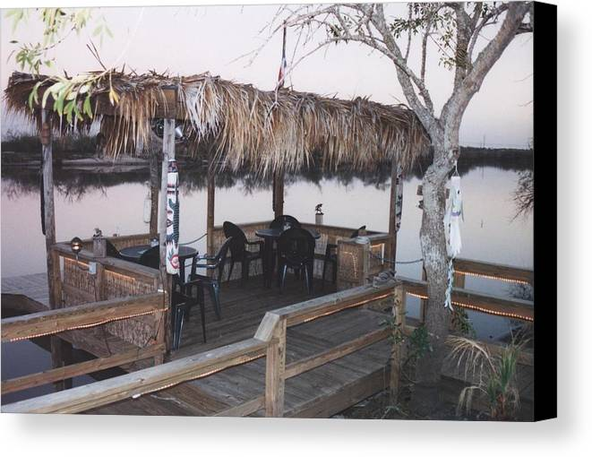 Landscape Canvas Print featuring the photograph Teka Hut by Wendell Baggett