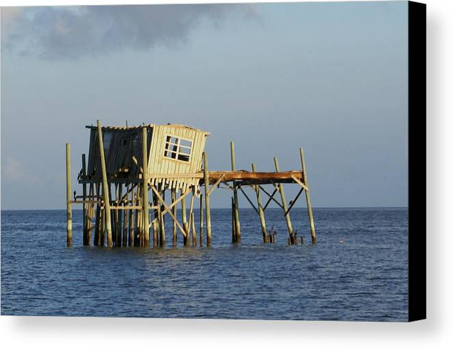 Seascape Canvas Print featuring the photograph The Honeymoon Suite by Debbie May
