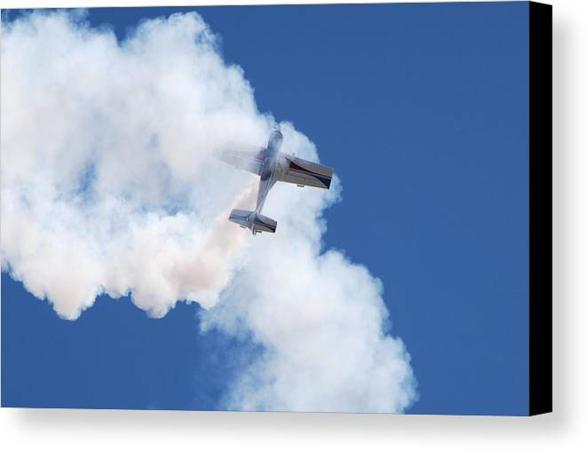 Aircraft Canvas Print featuring the photograph The Stall by Larry Keahey