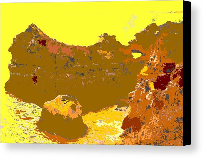 Mediterranean Canvas Print featuring the photograph Under A Portugese Sun by Ian MacDonald