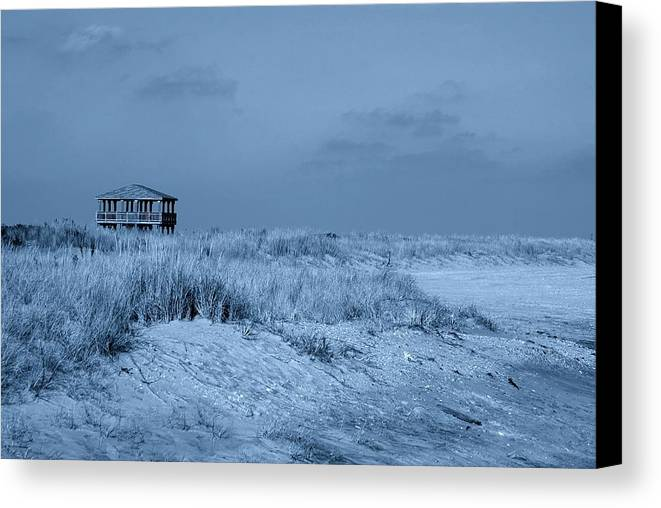 Jersey Shore Canvas Print featuring the photograph Waiting For Summer - Jersey Shore by Angie Tirado