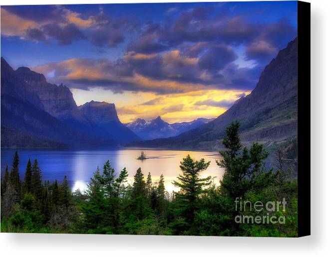 Wild Goose Island Canvas Print featuring the photograph Wild Goose Island by Mel Steinhauer