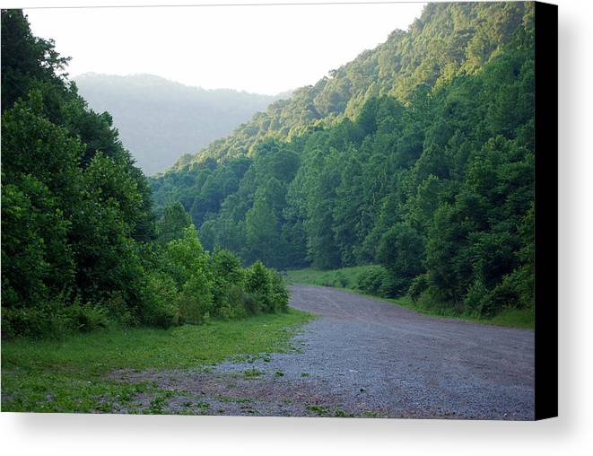 Wv Canvas Print featuring the photograph Wv Hollow by Phil Burton