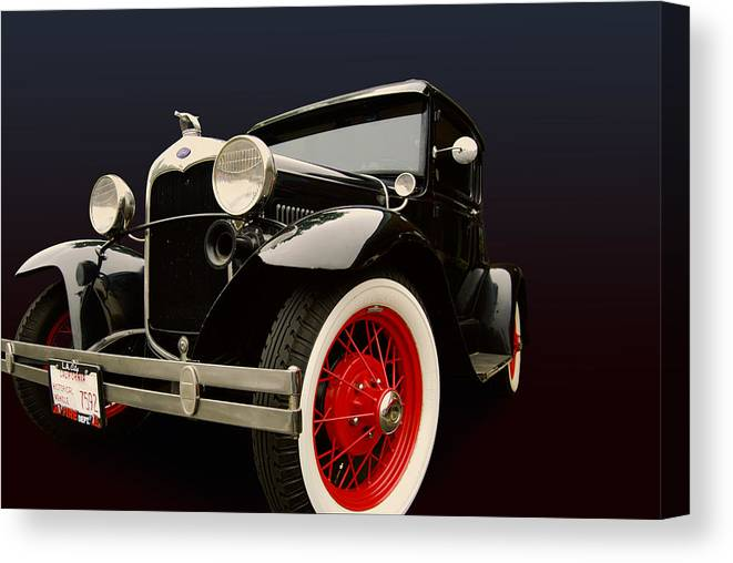 Ford Canvas Print featuring the photograph A by Bill Dutting