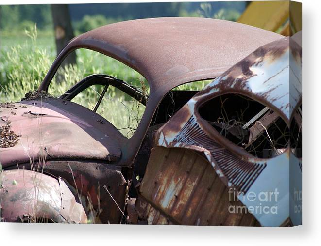 Volkswagon Canvas Print featuring the photograph Bug11 by John Turner