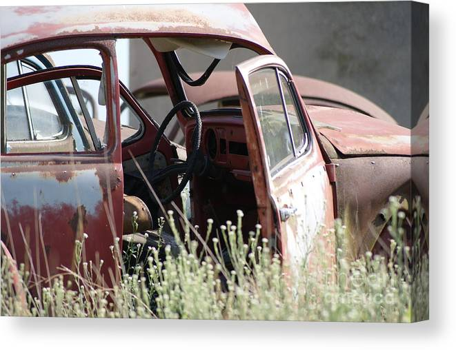 Volkswagon Canvas Print featuring the photograph Bug24 by John Turner