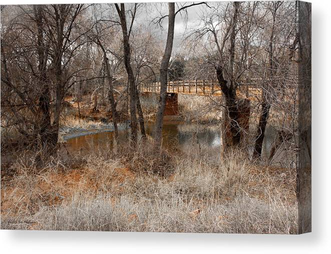 Arizona Canvas Print featuring the photograph Fall Day by Jerry Williamson