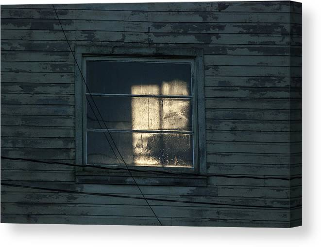Building Canvas Print featuring the photograph Light Through Yonder Windo by Janet Capps