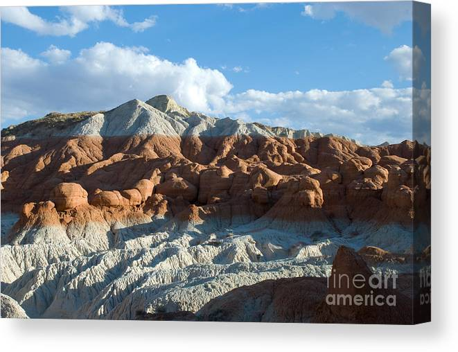 Mountain Canvas Print featuring the photograph Naked Mountain by Kate Sumners