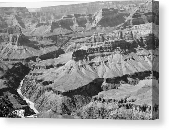 Landscape Canvas Print featuring the photograph National Wonder by Rusty Kidder