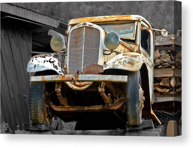 Arizona Canvas Print featuring the photograph On The Edge by Jerry Williamson