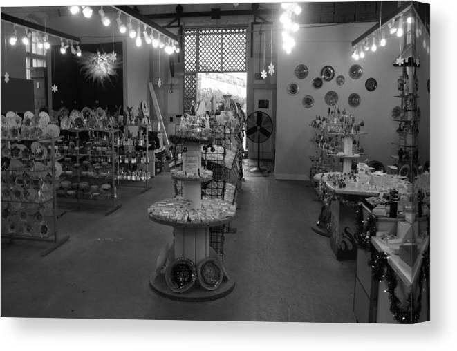 Store Canvas Print featuring the photograph The Glass Menagerie by Gregory Lafferty
