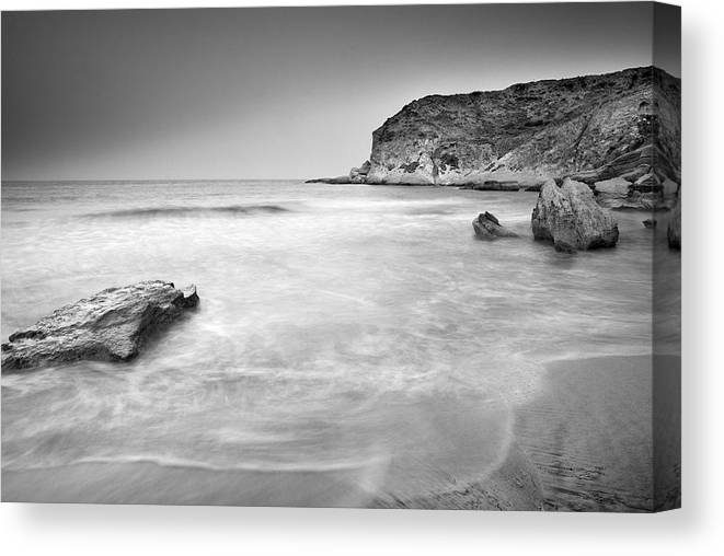 Seascape Canvas Print featuring the photograph Waiting For Io by Guido Montanes Castillo