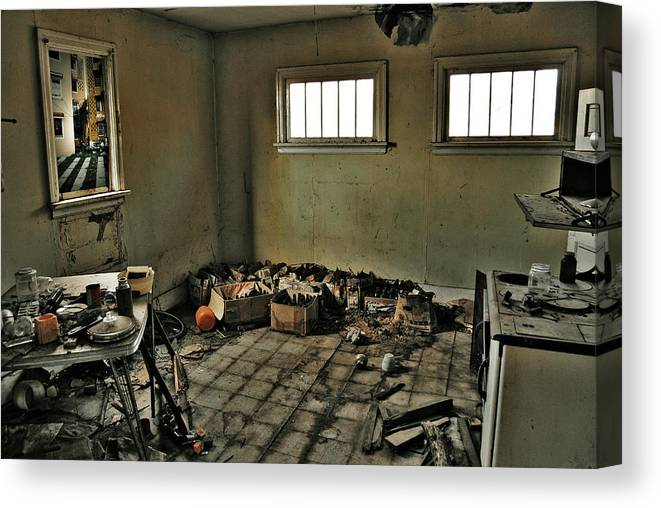 Photographer Canvas Print featuring the photograph Kitchen Of Capture by The Artist Project