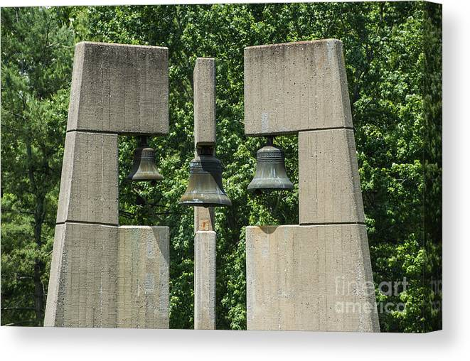 Bell Tower Canvas Print featuring the photograph Bell Tower by John Greim