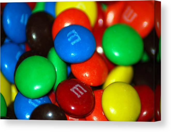 Candy Canvas Print featuring the photograph Candy by Michael Merry