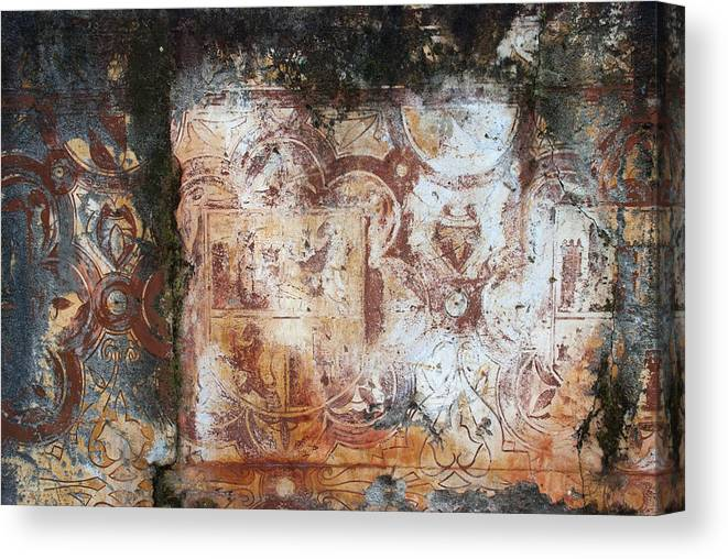 Spain Canvas Print featuring the photograph Moorish Fresque Cordoba by Perry Van Munster