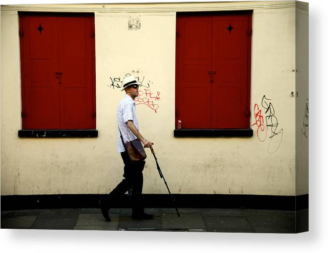 Canvas Print featuring the photograph Or Was It That Way by Jez C Self