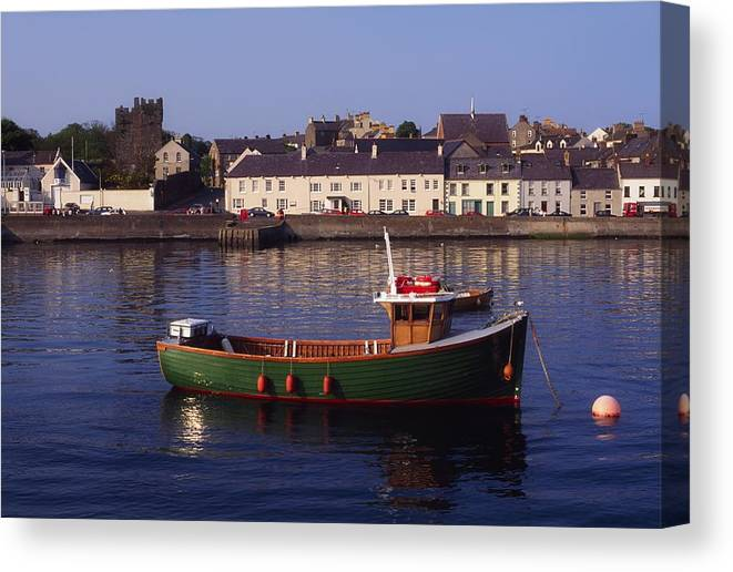 Ards Peninsula Canvas Print featuring the photograph Portaferry, Strangford Lough, Ards by The Irish Image Collection
