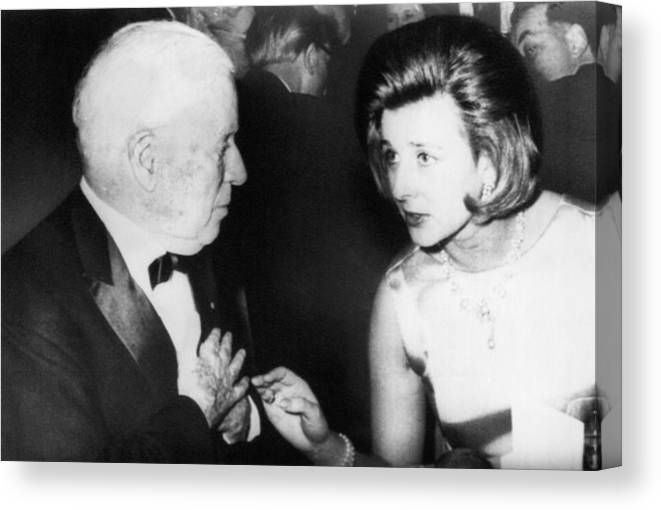 1960s Candids Canvas Print featuring the photograph Princess Alexandra Right by Everett