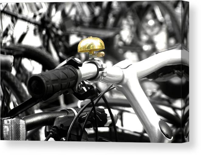Bicycle Canvas Print featuring the photograph Ring A Ding Ding by Mary Lane